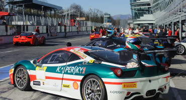 Ferrari: la 458 campione del mondo ai test del Castellet