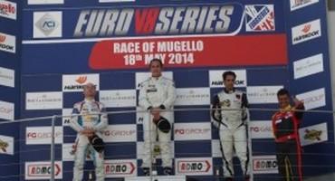 EuroV8Series, Mugello, Gara 1 a Nicola Baldan (Mercedes), secondo Mugelli (BMW)