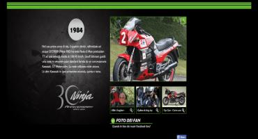 Kawasaki, per il 30° anniversario di Ninja lancia un mini-sito Europeo