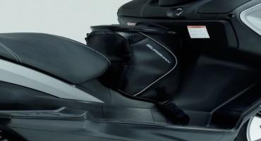 Da Suzuki, la gamma accessori per il Burgman 125-200 ABS
