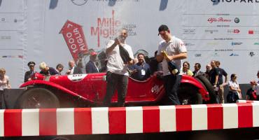 Mille Miglia 2014, a podio la Squadra Ufficiale Alfa Romeo