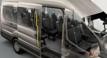 Ford, nuovo Transit Minibus, si entra in 18!