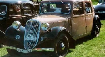 """Era il 1934 e Citroen presentava la """"7A"""""""