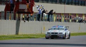 EuroV8Series, Mugello, Gara 2, Mercatali (BMW) sul gradino più alto, 2° Baldan (Mercedes)