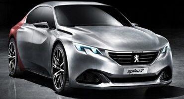 Peugeot presenta la Concept EXALT, forme sinuose e sensazioni forti