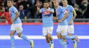 Il Napoli vince la Coppa Italia 2014 battendo la Fiorentina 3-1