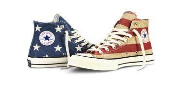 Da Converse, la sneaker con bandiera vintage Chuck Taylor All Star '70 »