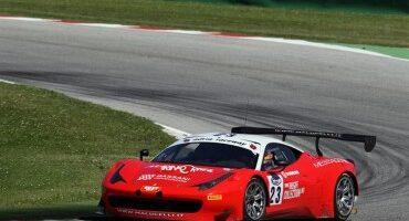 Aci Sport, Italiano GT ,la seconda sessione di libere a Malucelli-Galasso