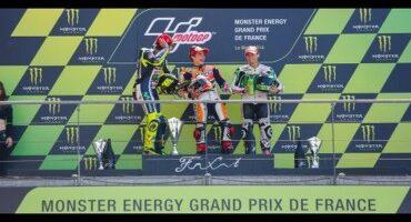 MotoGP, Le Mans, quinta vittoria di fila per Marquez, 2° Rossi