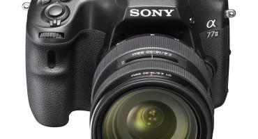 A 77 II , la nuova fotocamera di Sony