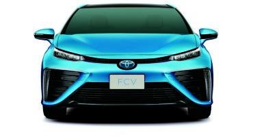 Toyota rivela il design della prossima Sedan Fuel Cell