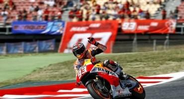 Moto GP, Gran Premio de Catalunya, 7° successo di Marquez, 2° uno strepitoso Rossi