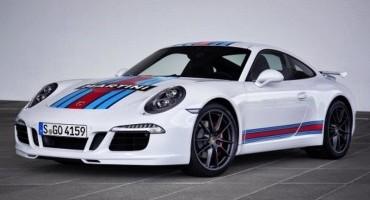 """""""Porsche 911 S Martini Racing Edition"""" per festaggiare il ritorno alla 24 Ore di Le Mans"""