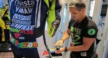 Valentino Rossi, all'asta la sua tuta #THISFORSIC58