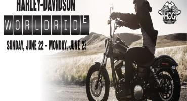 Harley-Davidson World Ride 2014, biker in festa (22-23 Giugno)