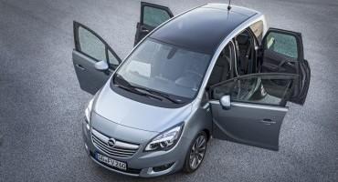Opel Meriva, in arrivo nuovi e moderni propulsori