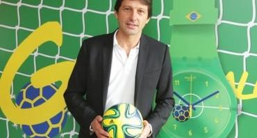 """Swatch, la nuova linea """"Entusiasmo"""" per i Mondiali di Calcio"""