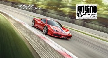 "Ancora Ferrari, ""Best Performance Engine"" e ""Miglior motore sopra i 4 litri"""
