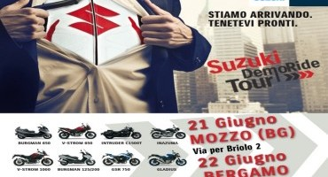 Suzuki DemoRide Tour 2014, il calendario
