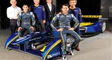 RENAULT sarà sponsor Ufficiale della Scuderia E.Dams-Renault nel Campionato FIA di Formula E