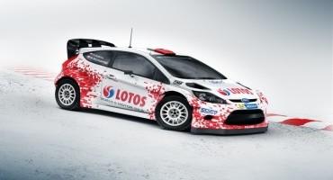 WRC-Ford Fiesta: Kubica sarà la star di uno spettacolo in Polonia