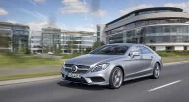 Mercedes-Benz: design ancora più dinamico per i Coupé CLS e CLS Shooting Brake