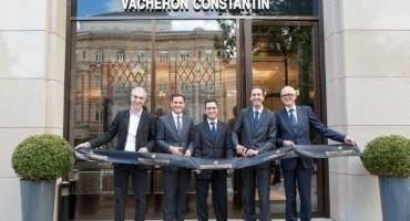 Vacheron Constantin: aperta una nuova Boutique a Mosca