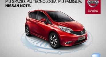 Nissan Note: ideale per la famiglia, con più spazio, più tecnologia, più sicurezza