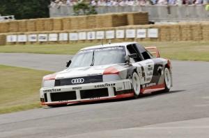 Drei grosse Jubilaeen fuer Audi in Goodwood