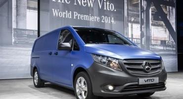 Nuovo Mercedes Vito, ancora più versatile, in tre versioni di lunghezza