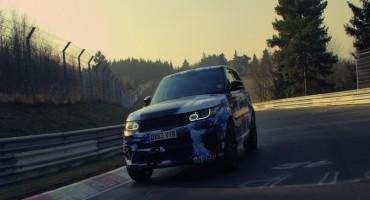 Il SUV di serie più veloce al Nürburgring?…Range Rover Sport SVR