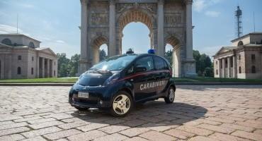 Mitsubishi i-Miev: fornite 23 auto a trazione elettrica all'Arma dei Carabinieri