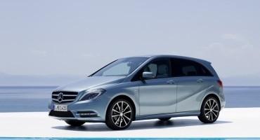 """Mercedes: classe B, il rapporto DEKRA 2014 le assegna il titolo di """"Auto dell'Anno"""""""