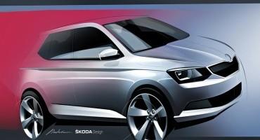 Skoda: la nuova Fabia sarà una vettura giovanile dal design moderno
