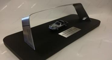"Porsche Italia, partner de i ""Nastri d'Argento 2014"" premia Pierfrancesco Favino"