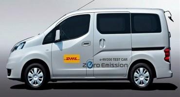Nissan e DHL Express, firmato accordo quadro sulla mobilità elettrica
