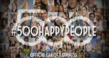 Fiat 500: il progetto #500happypeople per festeggiare il settimo compleanno