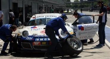 ACI Sport, Italiano GT, al Mugello in scena anche l'equipaggio (Romani-Mengozzi) con la Porsche GT3R dell'Autorlando