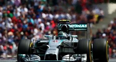 F1 GP di Gran Bretagna : guizzo di Rosberg che strappa la pole al compagno di squadra Hamilton, male le Ferrari