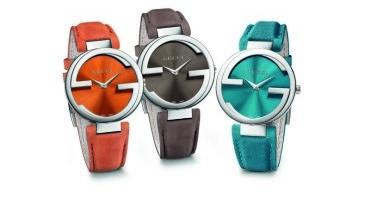 Gucci presenta un dinamico terzetto di orologi per l'estate