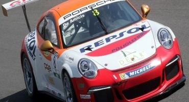 Carrera Cup Italia, Mugello, Gara 2 vede trionfare De Amicis, 2° Giraudi, poi Cairoli