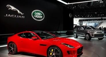 Jaguar Land Rover, record di vendite nel primo semestre 2014