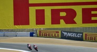 WSBK, Laguna Seca, l'impegno di Pirelli nello sviluppo di nuovi pneumatici