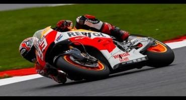 Moto GP, Silverstone, ancora Marquez è sua la decima pole, 2° Dovizioso, solo 6° Rossi