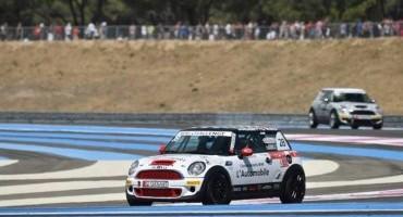 MINI Challenge, a Le Castellet pole position dell'equipaggio Calcagni-Tramontozzi