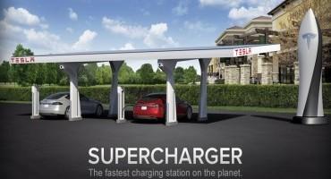 Tesla Motors, aperto il 50° Supercharger in Europa, si guiderà gratis da Stoccolma alla Costa Azzurra