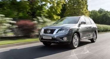Nissan presenta il nuovo Pathfinder e la berlina Sentra al Salone dell'Auto di Mosca 2014