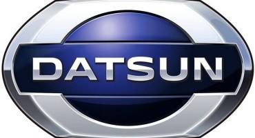 Il marchio Datsun debutta oggi al Salone Internazionale dell'Automobile di Mosca