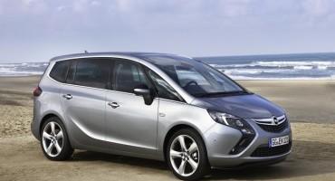 Opel Zafira Tourer, si arricchisce di un moderno e silenzioso propulsore diesel da 120 cv