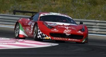 ACI Sport, Italiano GT, nel 2° turno di libere Casè-Giammaria su Ferrari 458 Italia i più veloci